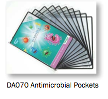 Anti-microbial pockets protect the health and safety of your staff.