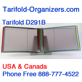 Tarifold D291B for small blueprints.