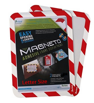 Magneto safety display pockets are in stock for you.
