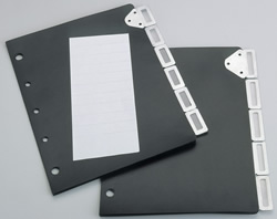 Tarifold Index Set Tabs.