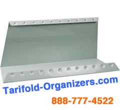 Tarifold D206 Desk Stand base for holding up to 60 organizers pockets.