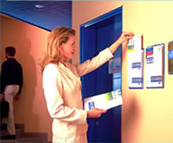 Tarifold PHDV5 brochure displays - horizontal and vertical.