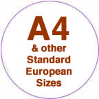 Tarifold A4 and other European sizes.