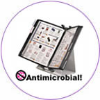 Tarifold antimicrobial racks.
