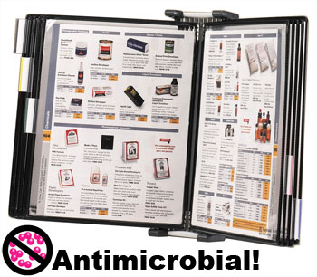 Tarifold antimicrobial wall unit starter set.