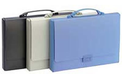 Tarifold opaque briefcases.