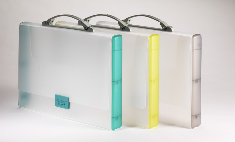 Tarifold Translucent and Opaque Briefcases.