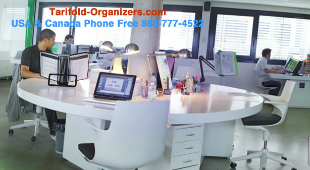 Tarifold organizers in modern offices everywhere.